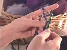 How to Crochet a Scarf : How to Crochet a Scarf with Textured Acrylic Blend Yarn