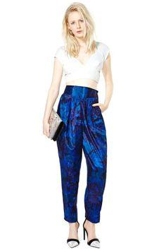 Midnight Steps Silk Pant #vintage #nastygalvintage