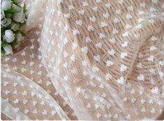 Width: 55.1 (140cm)    Thickness: thin    1meter=1.09Yard  1 yard=91.4cm  1=2.54cm    The material of this lace fabric is thin, fresh and very soft. The