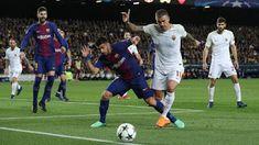Més Que un Club: Barca Hantam AS Roma 4-1