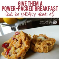 Give them a power-packed breakfast (but be SNEAKY about it!) #howdoesshe #breakfastrecipes #healthybreakfast howdoesshe.com