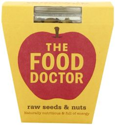 The Food Doctor Raw Seeds and Nuts 210g
