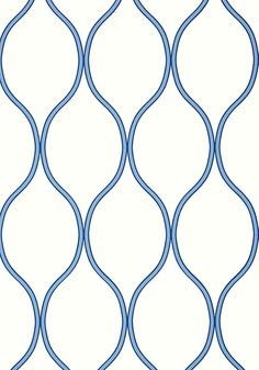 Camber #wallpaper in #blue from the Geometric Resource 2 collection. #Thibaut