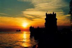 Lisboa tem um por do sol especial