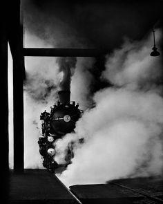 Rail Magic, 1949, by René Groebli.