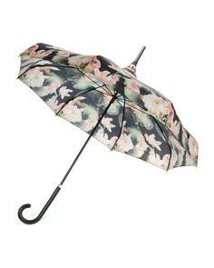 Opulent bloom printed parasol - Black | Gifts for Her | Ted Baker