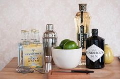 St. Germain Gin and Tonic
