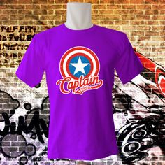 MILAN_CAPTAIN_AMERICA_VINTAGE_SHIELD T Shirt  All by hipHopeWear, $16.00