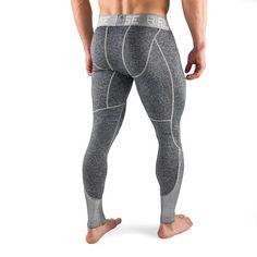 Active Dry Compression Pants - Black - Rise Gym Outfit Men, Bodybuilding Clothing, Marvel Clothes, Knee Sleeves, Compression Pants, Sport Pants, Athletic Wear, Mens Fitness, Black Pants