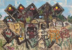 Ion Tuculescu Art World, Painting, Artists, Expressionism, Paint, Painting Art, Paintings, Painted Canvas, Drawings