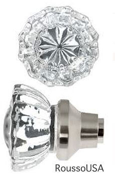 Depression Crystal Knob Set comes in lots of finishes