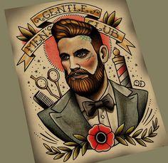 neo traditional man tattoo - Pesquisa Google More