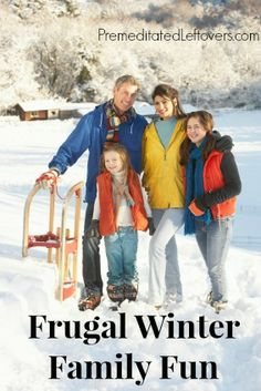 Frugal Winter Family Fun