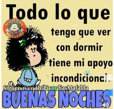 Mafalda dormilona.