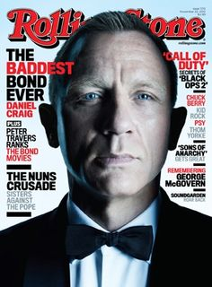 "Daniel Craig is the ""Baddest Bond Ever"" in the latest issue of @Rolling Stone Magazine #RollingStone (Courtesy of RollingStone.com)"