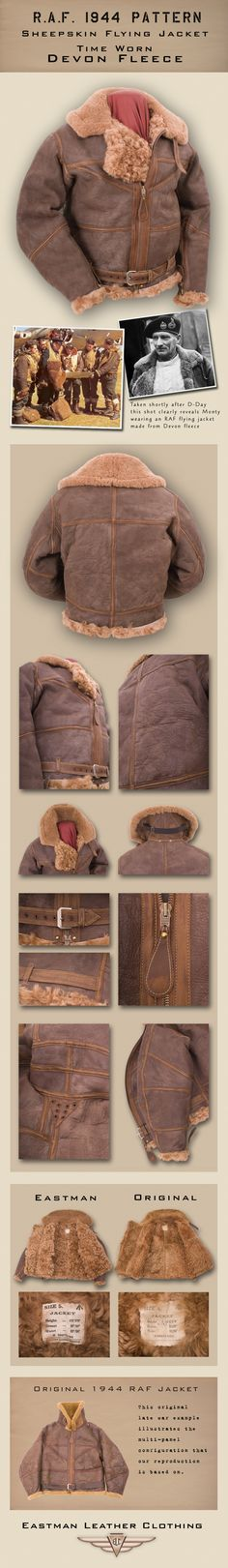 Well, the Scottish winter lasts for about 8 months.  EASTMAN RAF 1944 PATTERN IN DEVON FLEECE