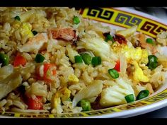 Fried Rice with Crab's Meat : Authentic Chinese Cooking. - YouTube