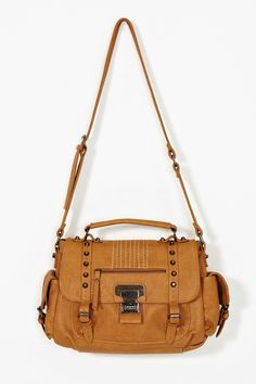 Axel Studded Bag in Camel