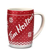 Tim Hortons Christmas Mug - no longer on wishlist but in my kitchen cabinet