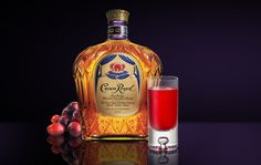 Crown Royal Hooter...   Ingredients:  Crown Royal® - .75 oz.  Raspberry Liqueur - .75 oz.  Cranberry Juice - 1 oz.    Combine the ingredients in an ice-filled cocktail shaker. Stir and strain into a shot glass.