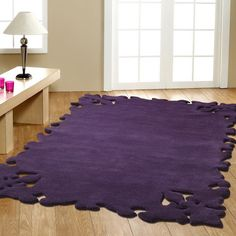 nuLOOM Elegance Simplicity Purple Rug from AllModern. Modern Area Rugs, Contemporary Area Rugs, Contemporary Furniture, Modern Contemporary, Inexpensive Area Rugs, 8x10 Area Rugs, 4x6 Rugs, Cheap Rugs, Purple Area Rugs