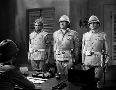 """Gunga Din"" (1939) starring Cary Grant, Victor McLaglen, and Douglas Fairbanks, Jr.,"