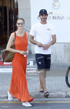 News Photo : Pierre Casiraghi and Beatrice Borromeo are seen...