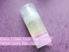 NEW POST! Review | Elemis Fresh Skin Peachy Perfect Gentle Face Wash #blog #blogger #bbloggers #bbloggerspost #beauty #beautychat #facewash #elemis #beautyblogger #skin #skincare #youngskin #teens #peach #raspberrykiss #review