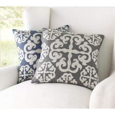 Found it at Wayfair - Opal Embroidered Decorative Pillow Cover