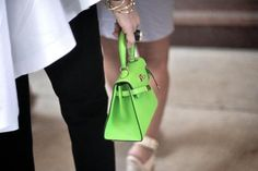 Hermes Birkin bags.