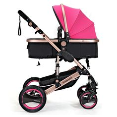 light big baby stroller EU baby pram many colors in stock golden frame hot sell baby pram 0-36 months newborn baby car #BabyStrollers