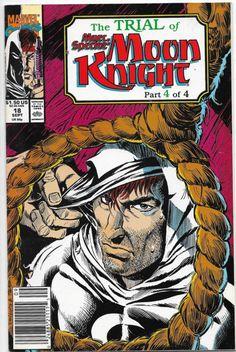 Marc Spector Moon Knight #18 Marvel Comics Doug Moench NM-