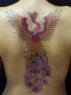 phoenix #tattoo