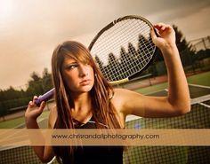 Senior pictures tennis