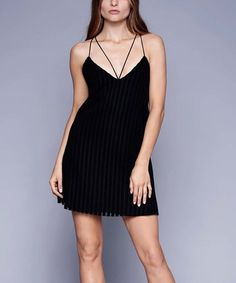 Look at this #zulilyfind! Black Rossi Shift Dress #zulilyfinds
