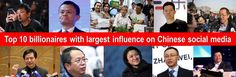 Top 10 billionaires with largest influence on Chinese social media | Edward Voskeritchian | Pulse | LinkedIn
