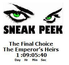 In little over a day left before the last Sneak Peek is posted. Other exciting news there's been a changed in the quick poll and in a surprising turn of events THE SKIVER GENIUS is the new number one!  The previous number one ALMOST MARRIED had slipped below the rock solid number two choice FAIL TO REMEMBER.  Join the VOTE 4 YOUR CHOICE excitement at: http://sdtracyharper.blogspot.com/    and join others to Ask SD Tracy Harper and get your Tea & Caffeine on. Don't forget to SUBSCRIBE