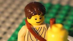 Its the story of David and Goliath in lego! From the Message bible this video tells the story as it was. Lego Bible, Children's Bible, Message Bible, Story Of David, Vbs Themes, David And Goliath, Bible Lessons For Kids, Cartoon Gifs, Bible Stories