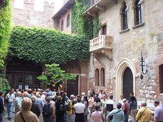 Juliet balcony, Verona