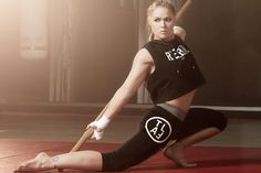 Advertising photoshoot with Ronda Rousey & Connor Mcgregor for Reebok