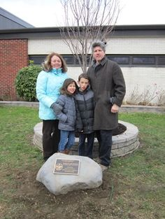 Memorial Rock Installed At Woodhull School In Honor of Patrick Hannon.  Troop 78 Huntington, New York, creates a memorial to Patrick Hannon.  February 2, 2013, article in The Huntingtonian.
