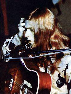 1971 Hair Gtr - David Bowie Photos