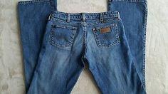 Wrangler Women's Jeans (Megan)  Size 30-34 medium wash sand blasted  boot cut