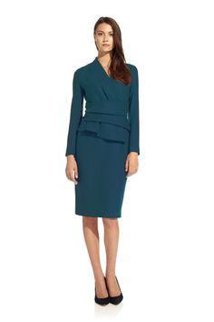 ARLINGTON DRESS TEAL// The Fold -영국 공주가 입느느브랜드..?
