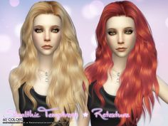 Aveira Sims 4: Stealthic Temptress hairs retextured - Sims 4 Hairs - http://sims4hairs.com/aveira-sims-4-stealthic-temptress-hairs-retextured/