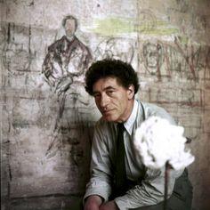 Alberto Giacometti in studio