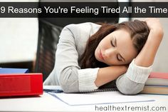 Are you feeling tired all the time? One of these 9 reasons may be the cause! Find out some easy ways to naturally treat the cause of your low energy.