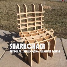 Explore the Biggest How To and DIY community where people make and share inspiring, entertaining, and useful projects, recipes, and hacks. Cardboard Chair, Cardboard Furniture, Chair Design, Furniture Design, Sectional Furniture, Outdoor Chairs, Outdoor Decor, Diy Chair, Diy Hacks