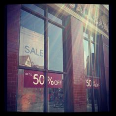 With the sun shining down over AS HQ today, launching into our up to 50% off sale seems like perfect timing!