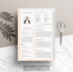 @newkoko2020 Resume Template 4page | Modern Muse by The.Resume.Boutique on @creativemarket #feminine